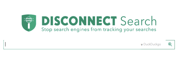 Disconnect Search home page