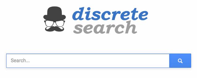 discrete search home page