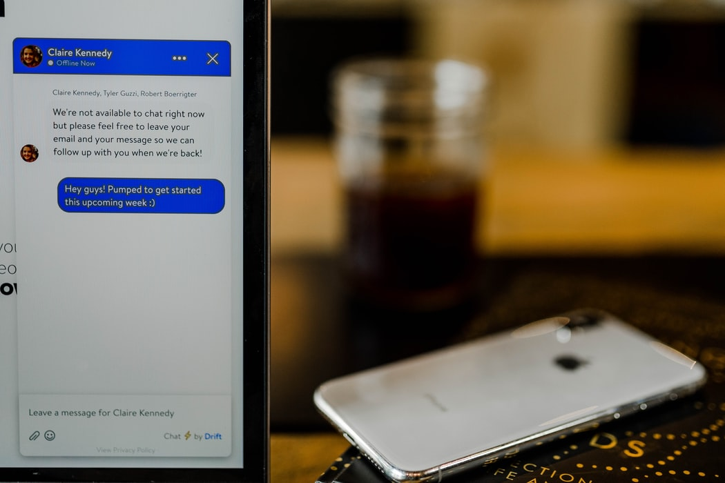 iPhone texting app