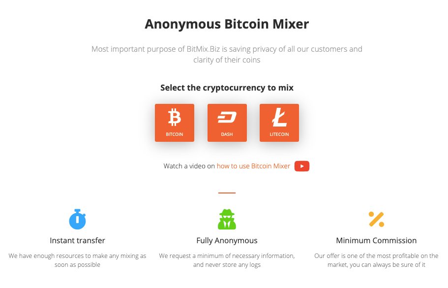 BitMix.biz homepage